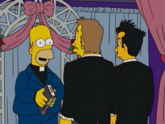 The Simpsons 16x10 : There's Something About Marrying- Seriesaddict